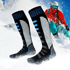 Unisex Outdoor Warm-keeping Breathable  Anti-sweat Long Socks For Skiing Cycling