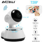 ACALI Wireless WiFi 720P CCTV Security IP Camera Pan Baby Monitor / Memory Card