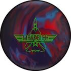NEW Ebonite Maverick Solid Reactive Bowling Ball, Red/Blue/Purple