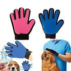 Pet Grooming Glove Dog Cat Dirt Hair Fur Removal Remover Brush Gentle Deshedding