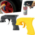 car paint aerosol - Spray Adaptor Aerosol Paint Spray Gun Handle Full Grip Trigger Car Maintenance