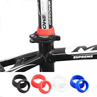 SILICONE RUBBER SEAT POST PROTECTION RING - 2 X SIZES - 4 X COLOURS