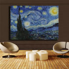 "Внешний вид - Vincent Willem van Gogh  ""The Starry Night"" HD print on canvas huge wall picture"