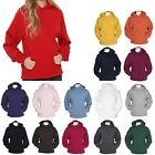 LADIES RELAXED FIT, HEAVY WEIGHT, PULLOVER, BASIC HOODIE, S M L XL 2X 3X 4X