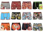 Mens Character Trunks Cartoon Boxer Shorts Novelty Funny Underwear S M L XL XXL $9.8 USD