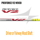 NEW UST Proforce V2 Wood Shaft  * Select Weight & Flex* 5A 5R 5S 6R 6S 6X 7S 7X