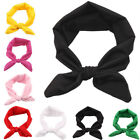 Fashion Women Yoga Cute Bow Tie Hairband Turban Knotted Rabbit Headband 10 Color