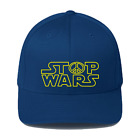 STOP WARS Star Wars inspired Anti-War funny slogan Baseball Caps Hats