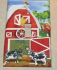 Farm Barn Yard Animals Image LIGHT SWITCH OR OUTLET COVERS HANDMADE Cows Tractor