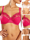 Chantelle Pont Neuf Full Cup Bra 1381 Underwired Non Padded Lace