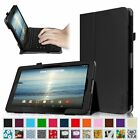 "NEW Leather Case Cover RCA Viking Pro 10.1 inch 10.1"" Detachable 2-in-1 Tablet"