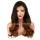 150% Density Ombre Lace Front Brazilian Wigs Body Wave Baby Hair Pre Plucked Wig