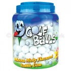 Golf Balls Bubble Gum Balls Sweets Retro Bubblegum Machine Refills 20 - 180 Tub