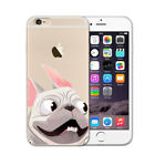 Cute Pug White For Iphone 5 6 7 8 Plus X 10 Case Cover Silicone Dog Puppies Love