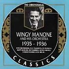 1935-1936 by Wingy Manone (CD, Sep-1995, Classics)