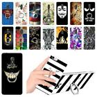 """For Alcatel A7 5090 5090Y 5.5"""" Soft Ring Stand Case Cover Dog Cat Bat Man Boy"""