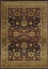 Purple Traditional - Persian/Oriental Vines Leaves Area Rug All-Over 1732M