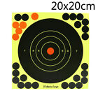 5pcs 8 Inch Splatterburst Targets Adhesive Target Stickers Hunting Shooting 69
