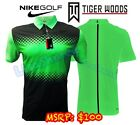 Nike 833165 Tiger Woods Mobility Majors Shirt 2017 Mens TW Golf Polo - NWT $100