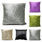 Luxury Crushed Velvet Cushion Covers 43x43 cm, 17 x 17 inches Free Postage