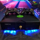 Xbox Original Retro Classic Arcade HD 2TB CoinOp/NinJa MODDED Pure Black Light++