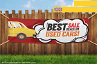 Used Car Best Sale Deal Heavy Duty PVC Banner Sign 2873