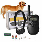 300M Rechargeable Electric Shock Collar Dog Training Remote Control Anti-Barking