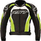 RST Tractech Evo 2 Leather Motorcycle Jacket - Flo Green (Seconds)