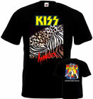 Kiss Animalize Tour 85' T-shirt double-sided all sizes S...5XL image