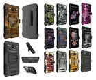 Coolpad Defiant Dual Layer Heavy Duty KickStand Hybrid Holster Cover Case 3