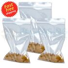 """Grip Seal Bags Small Clear Bags Plastic Baggy Self Seal Resealable 2.25"""" x 3"""""""