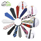 10 Styles Girl Boy Kid's School Wedding Elastic Necktie Tie 5010143