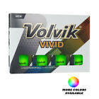 Внешний вид - Volvik 2018 Vivid Matte Finish Golf Balls - Pick Color