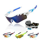 New Professional Polarized Cycling Glasses Sports Sunglasses UV400 STS801  US