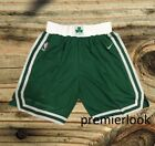 Boston Celtics Green Stitched Sewn Basketball Shorts New with Tags