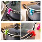 2pc Silicone Kitchen Accessories Lift Pot Cover Overflow Device Heighter Tools