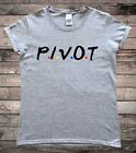 Pivot Sofa 90s TV Ladies T-Shirt