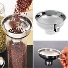 Stainless Steel Wide Mouth Canning Funnel Hopper Filter Kitchen Cooking Tools J