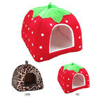 1 PC Dog Cat Soft Strawberry Bed Pet House Kennel Fashion Cotton Cushion Basket