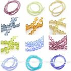 3mm Multicolor Crystal Glass Bicone Spacer Loose Bead Finding Jewelry Hot New