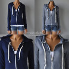 New Hollister Womens Hco Point Mugu Drapey Knit Hoodie Top Shirt