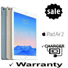 APPLE iPad Air 2 6th Generation 16GB 32GB 64GB 128GB LTE WiFi Black Silver Gold