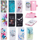 For Samsung Galaxy A8 2018/S9 Plus Wallet Leather Case Flip Stand Phone Cover