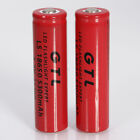 Lot GTL LS 18650 3.7V 5300mAh Li-ion Red Rechargeable Battery for LED Torch