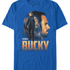 Marvel Avengers: Infinity War Bucky Barnes Portrait Mens Graphic T Shirt