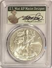 2017 W BURNISHED SILVER EAGLE PCGS SP70 CLEVELAND FIRST DAY OF ISSUE MINUTEMAN