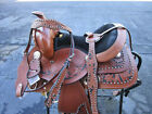 12 13 COWGIRL YOUTH PONY KIDS SHOW PLEASURE TRAIL LEATHER WESTERN HORSE SADDLE