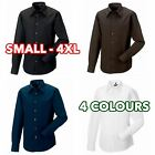 Russell 3 5 10 Pack Mens Boys Long sleeve Tencel® fitted shirt formal casual lot