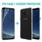 Galaxy S9 S9 +P Case Friendly Full Screen Protector Film+TPU Cover For Samsung~~