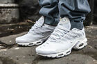 Nike Air Max Plus TN Tuned White Cool Grey Rare Sample 604133 139 DOUBLE BOXED